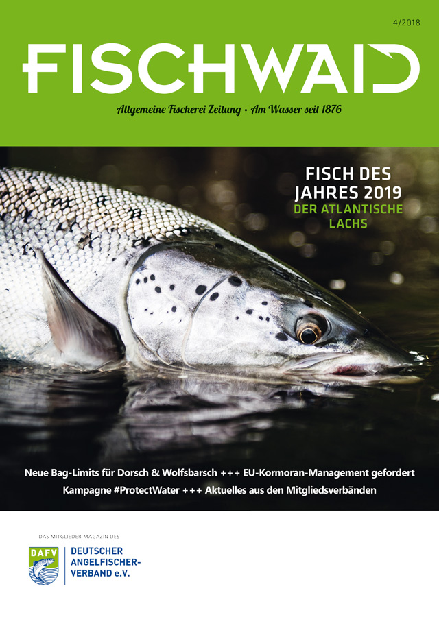 DAFV AFZ Fischwaid 4 2018 Cover