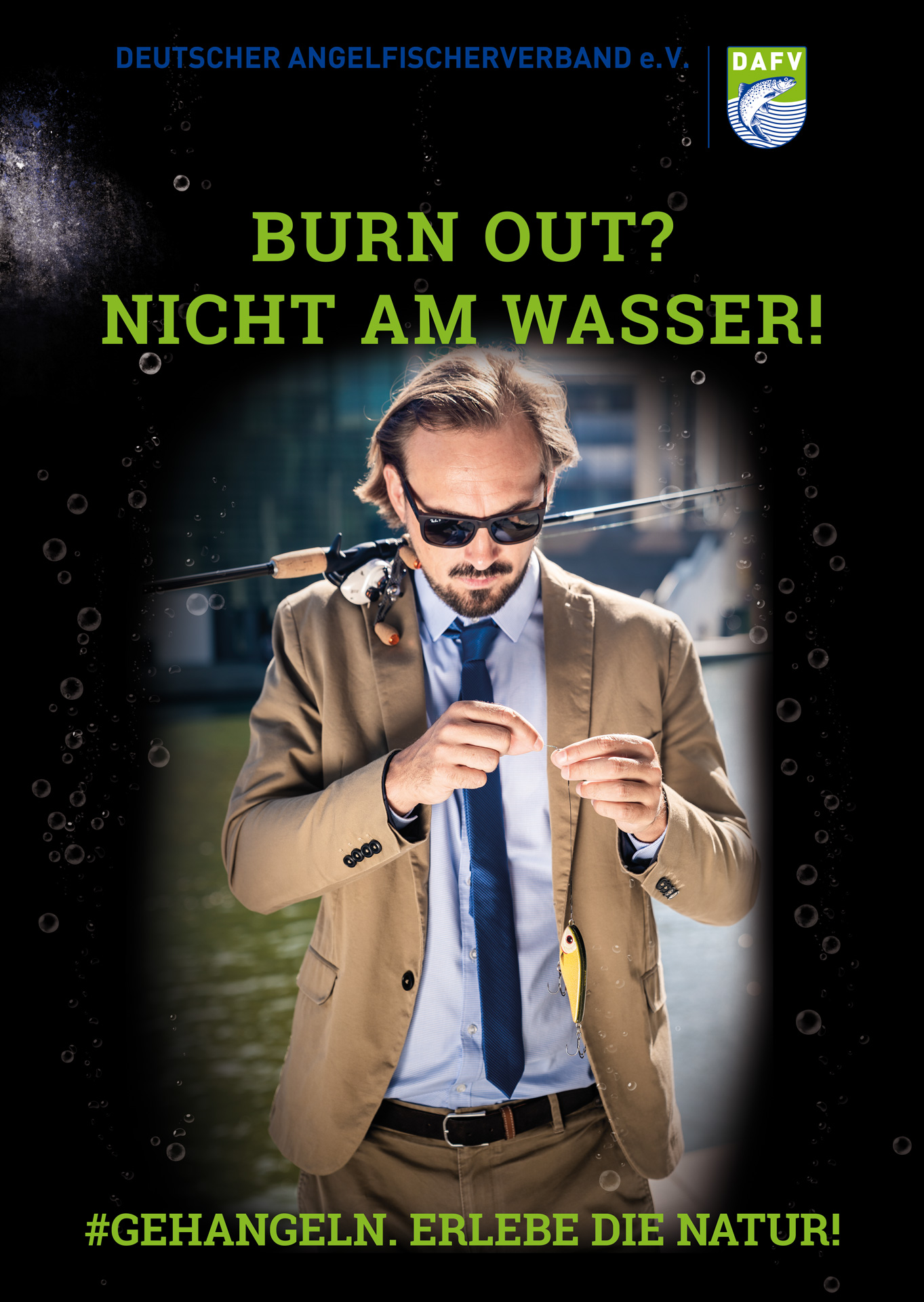 DAFV Kampagne burn out