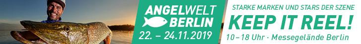 Triff den DAFV auf der Angelwelt Berlin 2019